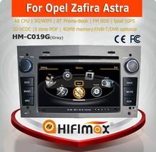 Hifimax double din car radio for opel zafira/car radio gps opel zafira/bluetooth car radio for opel zafira