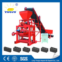 Alibaba china QTJ4-26 block making machine hand operated