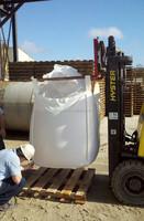 PP bulk bag for packing firewood 1000kg over locking color printing anti-uv treatment