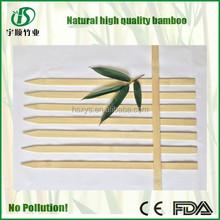 high quality flat bamboo stick