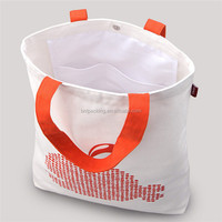 Cheap fashion custom color promotional organic cotton bags