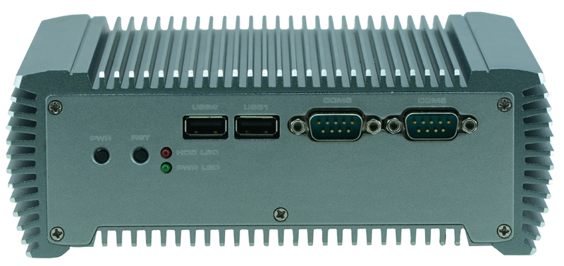 Fanless Net caja de la pc, mini caja de sistema barebone B805J, Thin client pc con RS232/RS485/RS422