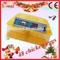 2014 más nuevo diseño automático completo& precio barato para incubar de pollo de la máquina con el ce para la venta ew-48