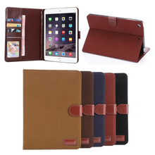 Vintage Style leather case for ipad mini 234, for ipad leather case