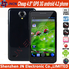Buy one get one free In stock valuable 4.5 inch quad core ram 1gb rom 4gb GPS 3G android 4.2android china wholesale mobile phone