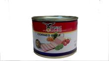 Round tin Corn beef 198g
