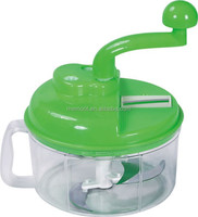 Clear Vegetable Fruits Portable Manual Hand Held Food Chopper