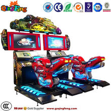 MR-QF009 Top sale arcade simulator mini racing motorcycle for adults