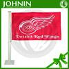 Detroit Red Wings NHL Car Flag,high quality wholesaleamerican flag motorcycle team logo design