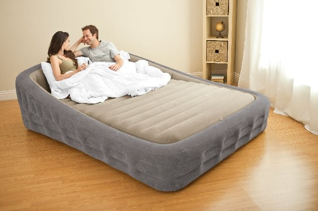 2018 Intex 67972 King Size Inflatable Bed With Electric