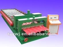 TY 1035 color steel plate glazed tile corrugated roof roll forming machine