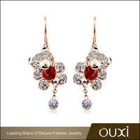 OUXI Factory Wholesale fantasy fashion designs new model no hole earring