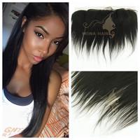 Perfect quality top grade 7a wholesaler brazilian hair, lace front closure piece