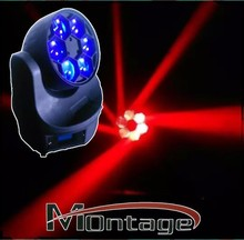 BEE EYE RGBW 4 in 1 LED 6*15W beam moving head stage light