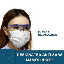 Raw Material Imported from Germany 3 Ply Physical Inactivation Virus Decorative Medical Face Masks