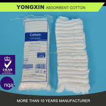100g 100% cotton absorbent folded cotton pad