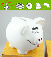 The best ceramic piggy money saving bank for children