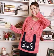 2015 winter new style Long Sleeve custom printing big hoody
