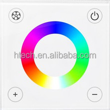RGB/RGBW Touch Panel LED Controller Multi Zone Rgb Controller With 4 gang