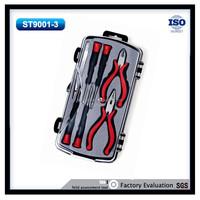 8pcs household transparent boxes hand tool kit