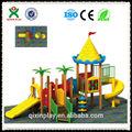 Los niños de madera parque infantil zona de juegos al aire libre equipos( qx- 074a)