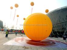 custom shape mylar balloon / advertising inflatable helium glowing balloon