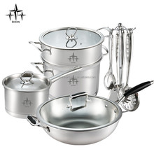 dinner set/kitchen accessories/stainless steel cookware -DX-A24