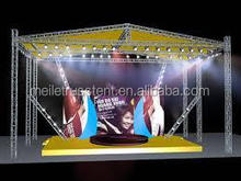 new exhibition concert entertainment aluminum stage truss/modular stage/ event stage