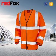 Venta al por mayor impermeable alta visibilidad seguridad a prueba de agua de la chaqueta goretex
