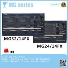 MG24/14FX 16mono and 4stereo audio digital mixer console