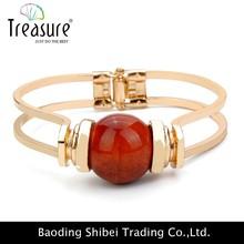 Ingrosso 14k oro bracciali gioielli, bracciale in agata ingrosso