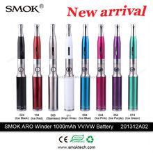 alibaba.com france portable vaporizer colorful e cig batteries vv vw 1000mah