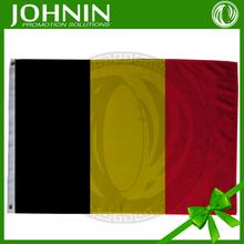 La chine la fabrication OEM 3ftx5ft personnalisé promotionnel belgique drapeau images