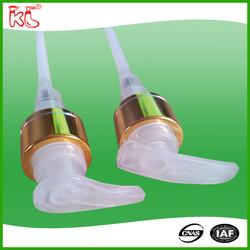 alibaba china superior quality plastic ribbed 2cc lotion pump