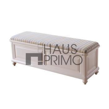 bedroom furniture white long storage ottoman buy white