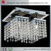 Wholesale luxury crystal led ceiling light for living and dining