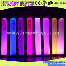 Custom Inflatable Columns, lighting column, decorative lighting column