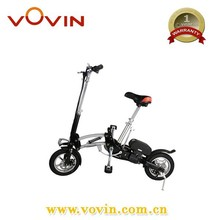 Best automatic 2 wheel foldable electric bike 350W motor scooter Vovin-B12