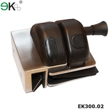 Stainless steel glass pool fence safety door latch structure types