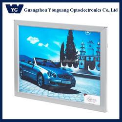 YGY-22 Factory supply Snap frame edge-lit 16x20''aluminum light box display acrylic photo frame