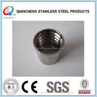 DN10 00210 stainless steel pipe ferrules clamp ferrule wire rope ferrule