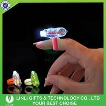 Custom Promotional LED Finger Ring, Flashing Finger Light, Party Finger Light