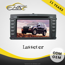 OEM FACTORY SMALL ORDER ACCEPT for ssangyong rexton auto mp3 radio BLUETOOTH