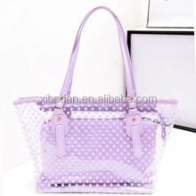 Fashion Women's PVC Shoulder Handbags Satchel Tote Shopping Bags