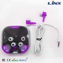 Stylish colorful earphone silicone earphone case
