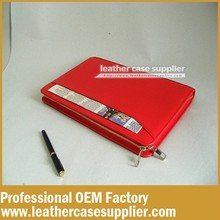 The Beautiful Women Red PU Leather Portfolio For Macbook Pro Retina