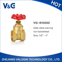 Wholesale Hot Sale Casting Brass Gate Valve with Iron Hand Wheel