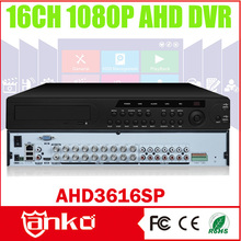 2015 New arrival Low Cost 1080P AHD DVR 16CH Three In One H.264 HDMI