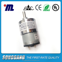 PMDC Spur Gear Motor, Mechanical Equipment Motor SGB-33RO124.7I, Gearhead Vibrator Sex Toy kid Car Motors Electric Bicycle Motor