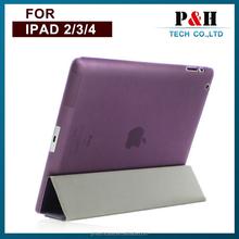 Luxury Leather Stand Slim Smart Case Cover for Apple New iPad 2/3/4/ipad mini